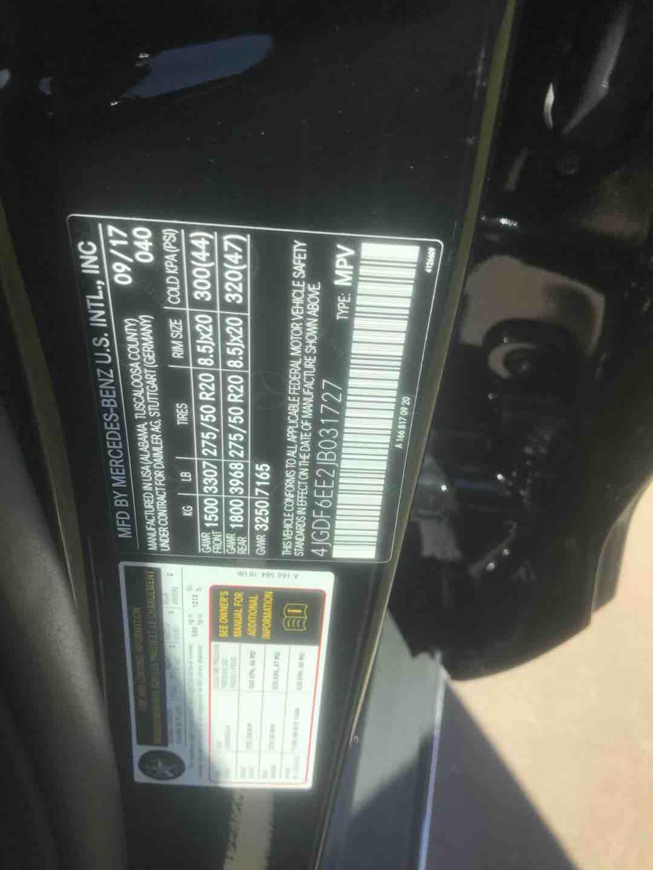 奔驰GLS450 18款 GLS450 P01 灯光包美规