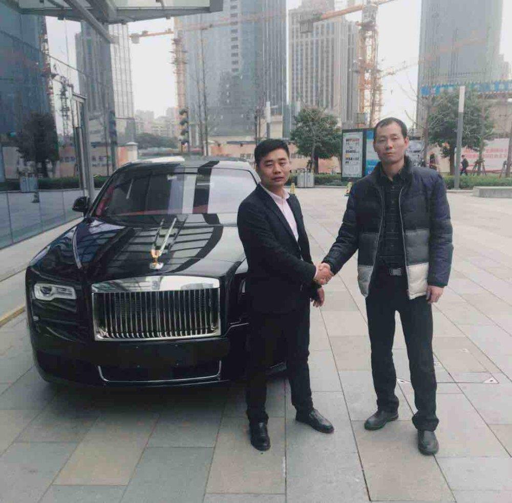 恭喜北京王总喜提劳斯莱斯古思特,感谢您的信任与支持,祝家庭幸福美满,事业蒸蒸日上!