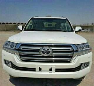 酷路泽4000 18款 4.0 GX-R 八气 外挂备胎中东