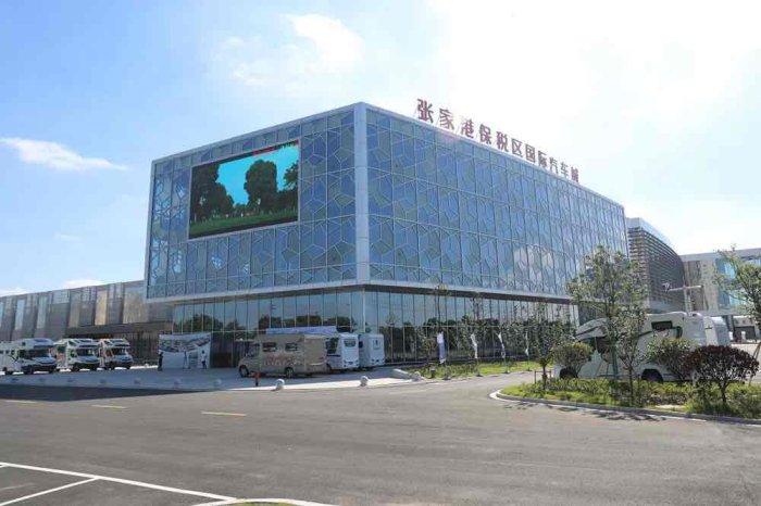 张家港保税区聚美优车进口汽车贸易有限公司