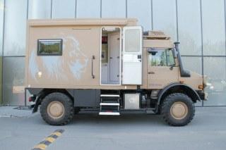 乌尼莫克U系列 15款 U4000 全地形休旅房车美规
